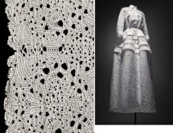 left: MoMu Collection TMS number B20/GV025, right: Azzedine Alaïa, S/S 2014