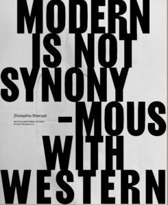 Quote: Modern is not synonymous with western