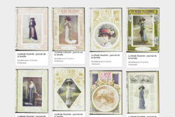 Webpage of historical magazines