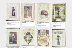webpagina van online archief van historische tijdschriften
