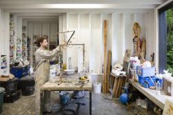 Anton Cotteleer in his studio