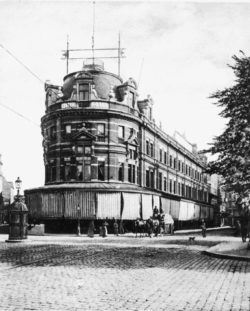 Old image of MoMu in 1894 when it was Hotel Central