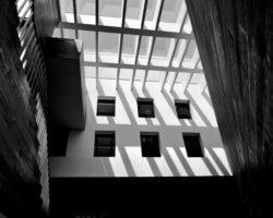 Ceiling of the MoMu buildling: shadowplay
