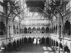historisch beeld van de Handelsbeurs te Antwerpen
