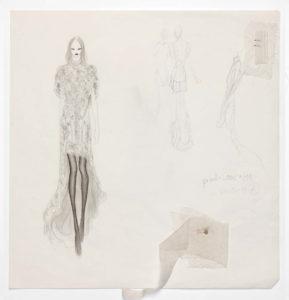 Sketch by Olivier Theyskens